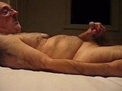 Richard the Wanker cumming in mouth - lots of cum