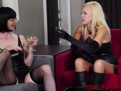 Lingerie Lesbian Perverts Kylie and Julia