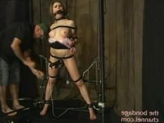 Candle maid bondage orgasms 2