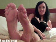 My feet will make you cum so hard JOI