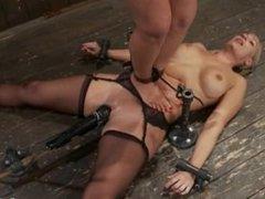 Lesbian Trample Bondage