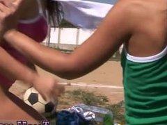 Exploited ebony teen anal and erotic teen masturbation Sporty teenagers