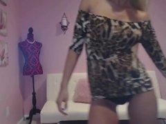 Dirty Talking Bimbo Blonde In A Tight Dress (JOI) (HD)