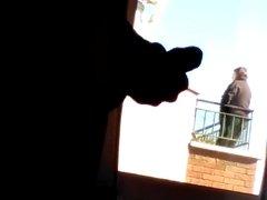 Paja en la ventana
