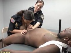 Lily labeau interracial anal Milf Cops