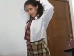 Hot Teen Schoolgirl Fucked By Her Teacher Live on FreeSexyCamWhores com