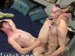 Clothed granny with naked male gay porn Finally their trunks come off and