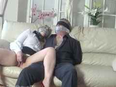 Lucky man tied and women 1