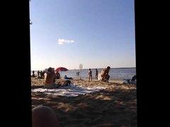 asian on oka nude beach