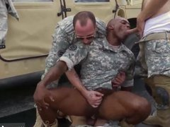 Military showers cam and gay men army orgy
