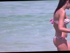candid voyeur girl beach