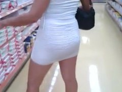 Mom at supermarket