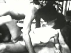 sexy brunette fucking in the sixties 3
