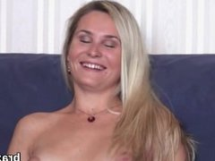 Casting bombshell goes home after hardcore penetration and anal nailing