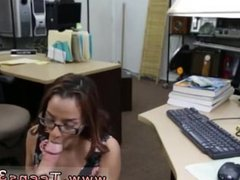 Big tits solo dildo College Student Banged in my pawn shop!