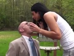 Princess Christina - Smoking & Spitting Humiliation