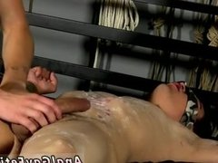 Gay twink first time bondage on mobile and