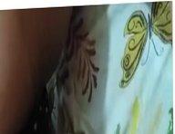 Nossa amiga se exibindo calcinha na cama meu marido ver 2