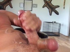 Self suck then wank it on myself