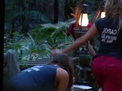 MILF Carol Vorderman Shaking Her Amazing Big Ass In The Jungle.