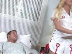 Behind the scenes fun with Nurse Vanessa Cage