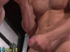 Free gay fisting cum movies Toned and scruffy Jacob Peterson and Brian
