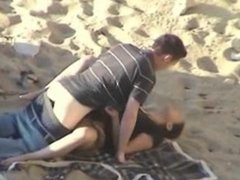 beach date turns into a full sexual