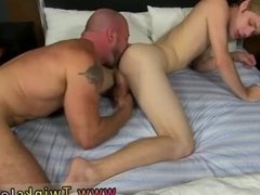 Monster cock gay anal double penetration