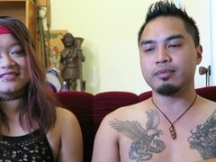She needs to cum more! Cute Hot Asians teaching the art of sex
