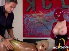 subtle BDSM action with fetish babes