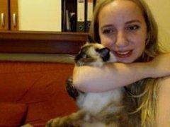Hot Teen Western Sahara wife flash on webcam