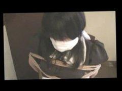 Japanese Maid otn gagged