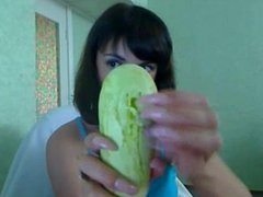 russian long nails destroy cabbage