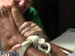 Fat mens feet movies gay Mikey Tied Up &