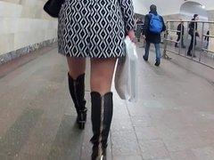 pantyhose in metro
