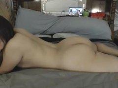 Ann sugar jerk off dildo, big booty!