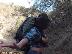 Police gangbang prisoner Mexican border