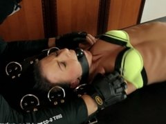 Gagged and Tickled Nathaly in Ticklish Marathon