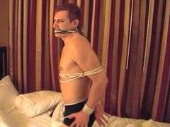 BOUND GUYS - Ned (on the bed)