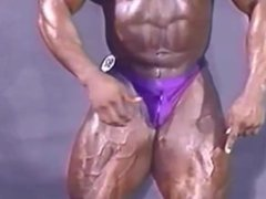 Backstage Posing at the 1995 NPC Nat