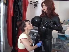 Clinic treatment for Angelica by Madame C part 2