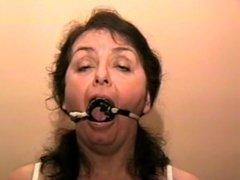 Milf tied gagged