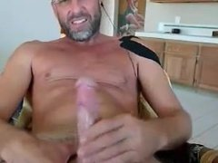 daddy cums in his face