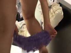 Blonde girl undressing on cam. More at www.CuteSexyCams.com