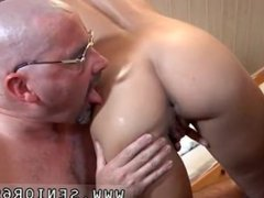 Old cleaning lady and old grandpa cumshots Scarlet is to late with paying