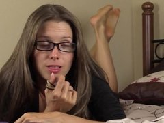 JOI Lelu Love Jerk Off To My Feet and Soles