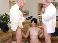 Old bisexual couple young guy first time