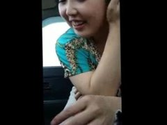 Amateur Japanese girl blow job in a car vol.03