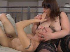 Oral sex wuth Russian mature Caroline M