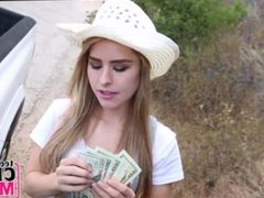Teen Lilly Ford Picked Up And Fucked For Money